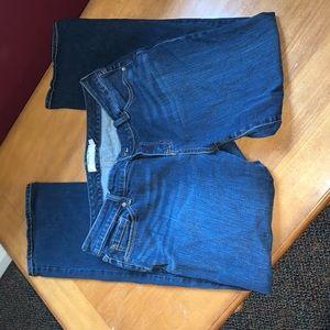 Torrid Plus Size 16 R Jeans Denim Pants Dark Wash